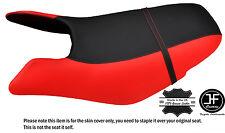 Noir & b rouge personnalisé pour seadoo gtx gti 97-01 avant vinyle housse de siège + sangle