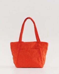 New w/tags BAGGU Mini Cloud Bag Lightweight Nylon Packable Tote, Tomato
