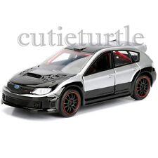 Jada Fast and Furious Brian's Subaru Impreza WRX Sti 1:32 98674-CP4 Silver Black
