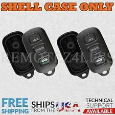 2 For 1998 1999 2000 2001 2002 2003 Toyota Sienna 3btn Remote Shell Case Cover