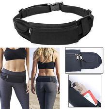 d50bb2be556 Waterproof Sport Zip Waist Belt Bum Bag Pouch Running Fanny Pack for  Cellphone