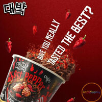 2x80g INSTANT NOODLES MAMEE DAEBAK IN CUP SPICY CHICKEN KOREA GHOST PEPPER