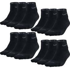 6 Paar NIKE Dri-FIT NoShow Sneaker Socken schwarz 38-42 (M) NEU 6er Pack Low Cut