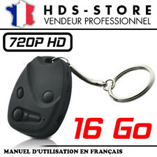 Car800m Keychain Spy Camera HD 720p+ Micro SD 16 GB Video Photo Audio