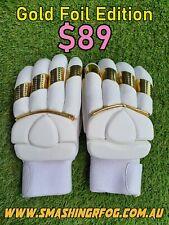 CLEAN SKIN GOLD MENS RH Cricket Batting Gloves ** RARE **