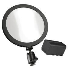 walimex pro LED Round 200 Set, Hochleistungs-LED, prof. Foto- und Videolicht