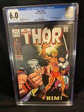 Thor #165, 1st Full App of Him / Warlock, - 1969 CGC 6.0