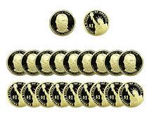 2009 S James K. Polk Presidential Dollar Gem Deep Cameo PROOF 20 Coin ROLL