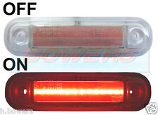 12V/24V SURFACE/BAR MOUNT RED REAR LED MARKER LAMP / LIGHT TRUCK VAN KELSA BAR