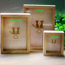 Multi Photo Frame Art Wooden Mini Pictures Frames Wedding Home Decor New