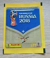 Panini WM 2018 1 Tüte MCDonalds Deutschland World Cup 18 Packet Pack Bustina d
