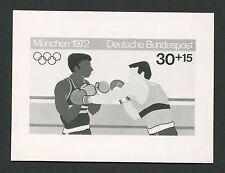 BUND FOTO-ESSAY OLYMPIA 1972 BOXEN OLYMPICS BOXING PHOTO-ESSAY PROOF e223