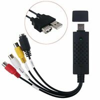 Converter Easycap Audio Video Adapter USB VHS to DVD Video Capture Win7 Win8 10