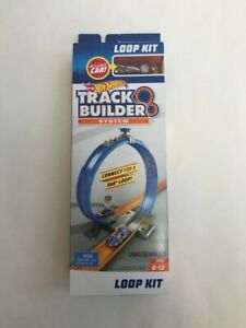 Hot Wheels Track Builder System Loop Kit Includes Car
