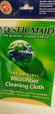 Mystic Maid Microfiber Cleaning Cloths Kitchen Bath Eco Friendly Yellow Original