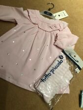 Tutto Piccolo Dress & Co Ordinating Tights Age 18 Months Bnwt
