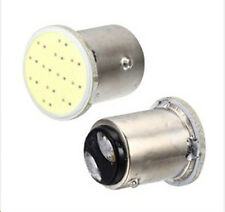 2 Lampadine Luce Bianca LED COB 1157  P21 lampadina per  12Vcc 3W P21/5W