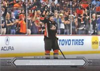 2014-15 SP Authentic Hockey #153 Teemu Selanne Modern Moments Anaheim Ducks