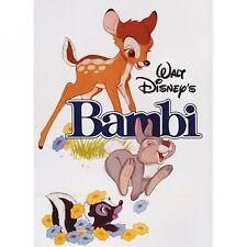Disney's Bambi licensed steel fridge magnet  (hb)