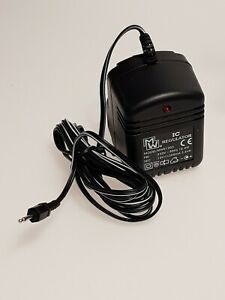 MEAN WELL MWS1203 12V DC 300mA 3.6VA REGULATED POWER SUPPLY 2.5mm MINI-SUB