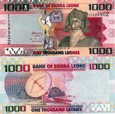 SIERRA LEONE - 1000 Leones 2013 FDS - UNC