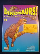 DINOSAURS MAGAZINE - ORBIS  - Play and Learn - Issue 11 - Carnotaurus