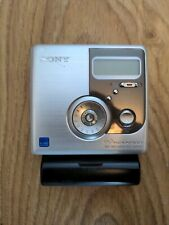 More details for sony hi-md mz-nh900 walkman portable minidisc md recorder silver tested working