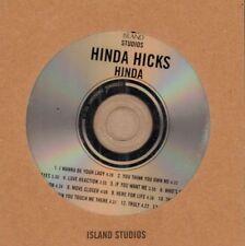 Hinda Hicks(Promo CD Album)Hinda-Island-1998-New