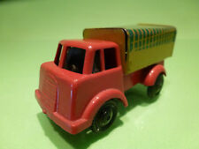 TIN TOYS BLECH + PLASTIC TRUCK - RED FRICTION - RARE SELTEN - GOOD CONDITION