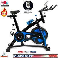 Exercise Stationary Bicycle Cycling Fitness Gym Bike Cardio Workout Bicycle Blue