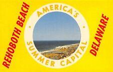 Rehoboth Beach DE Life Preserver Portal~Time & Tide Wait For No Man~1960s