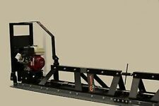 New Packer Brothers Pb21 Power Concrete Truss Screed Honda Made In Usa 21 Feet