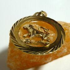 8 K 333 SIGNES DU ZODIAQUE LION PENDENTIF EN OR pendentif en or