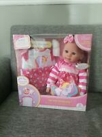 BABY EMMA SOFT BABY DOLL PLAYSET CUDDLY LOVE KINGSTATE THE DOLLCRAFTER BRAND NEW