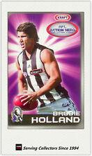 2007 Kraft Dairy AFL Action Heroes Card #5 Brodie Holland (Collingwood)