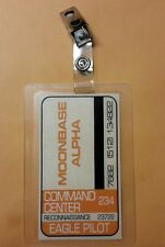 Space 1999 Id Badge -Command Center Eagle Pilot  prop costume cosplay