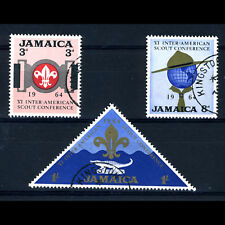 JAMAICA 1964 Scouts. SG 233-235. Fine Used. (AR602)
