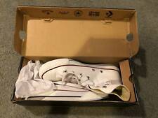 White Converse High Tops- Size 6
