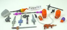 MOTUC, Weapons lot, Masters of the Universe Classics, parts, He-Man, swords