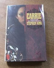 CARRIE by Stephen King  -1st/early trade edition - HCDJ - W16 - $10.95 - NF