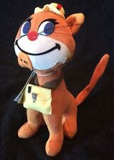 Dream Pets Fish N Chips Dakin Cat Velveteen Stuffed Plush Animal New Repro