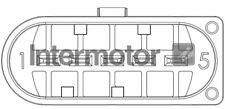 Intermotor MAF Mass Air Flow Meter Sensor 19825-M - GENUINE - 5 YEAR WARRANTY