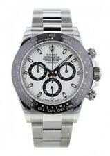 Rolex Cosmograph Daytona 116500LN White Dial Stainless Steel Automatic Men Watch