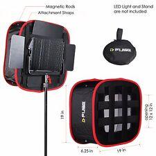 "D-Fuse DF-1L (12""X12"") LED Light Panel Softbox Collapsible Foldable Portable"