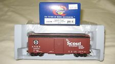 Athearn Rtr 40' Box Car Youngstown Door Santa Fe The Scout Atsf 141701 #73508