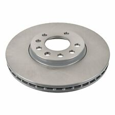 Pair of Front Brake Disc Fits Vauxhall OE 32025723 Blue Print ADW194329