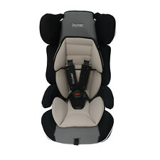 Grey Themed Parker Child Baby Car Seat Group 1/2/3 Age 4-12 Safety Booster Seat