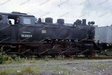 Farb-Dia-Bäderbahn Molli-Schmalspurbahn-Dampflok-99 2323-6-Bad Doberan-2