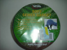 RV - Sewer Hole Donut - Soft Rubber Sewer Gasket - Tapered to fit hole - NEW