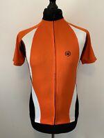 Canari San Diego USA Red Orange Cycling Jersey Shirt Short Sleeve Unisex M